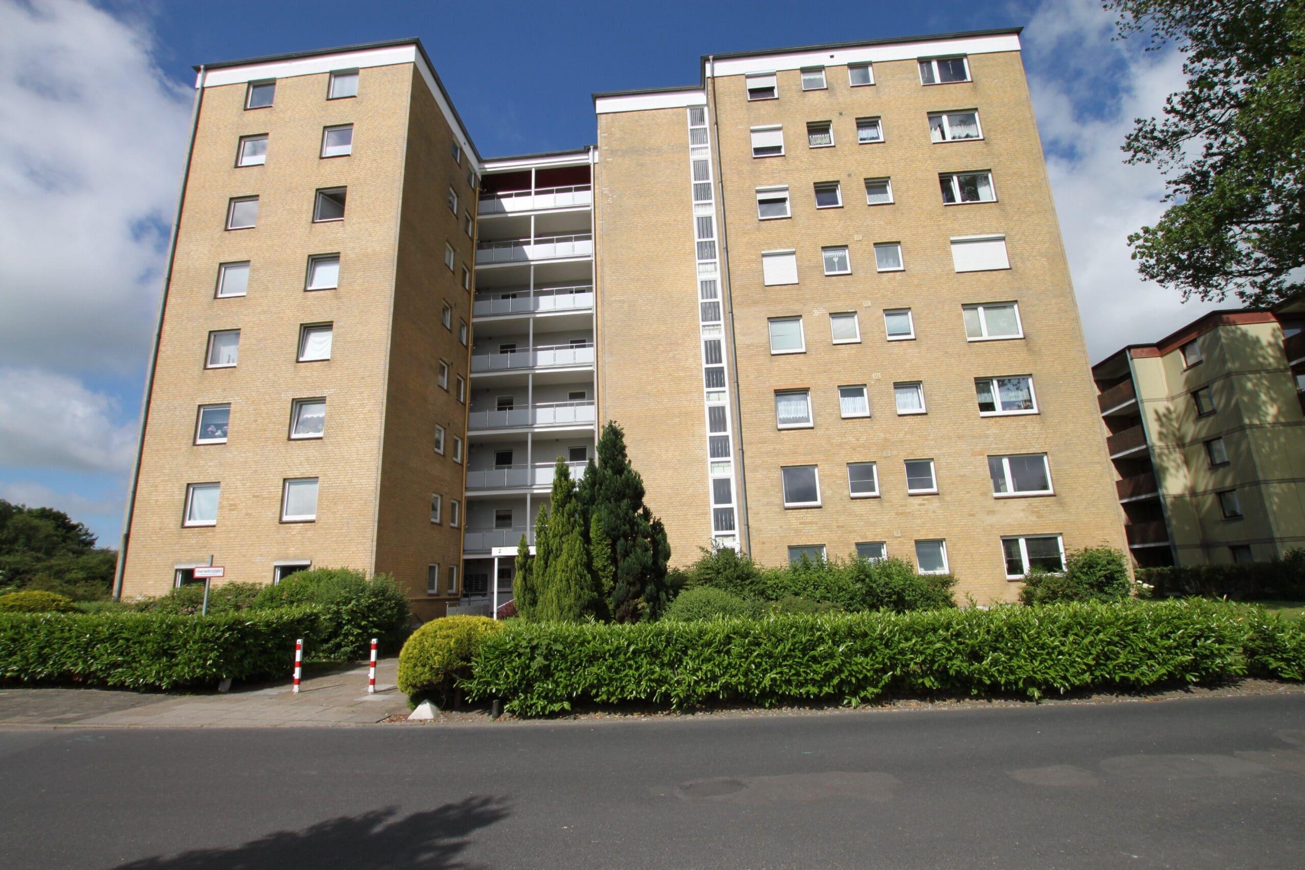 Husum 2-Zimmerwohnung mit Balkon