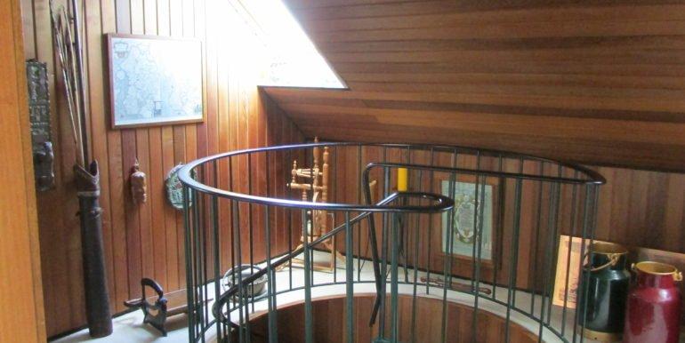 Treppe oben