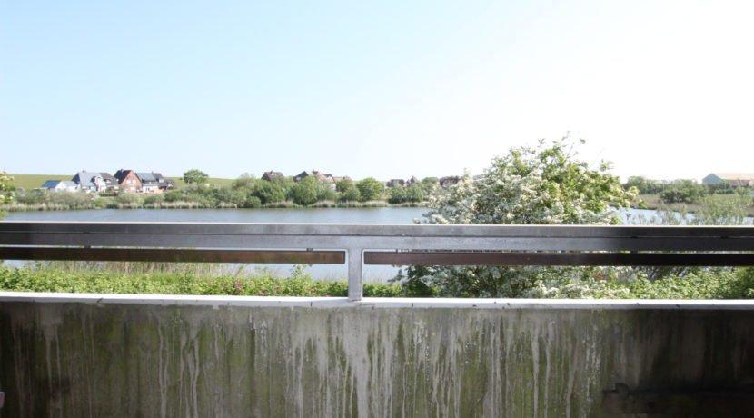 Balkon mit Sonne