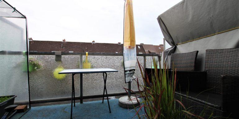 Dachterrasse im OG