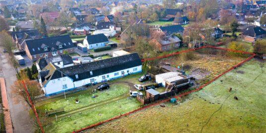 Wohnbaugrundstück mit Altbestand und Koppel